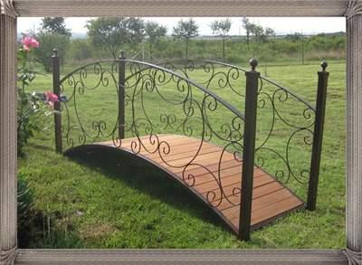 wrought-iron-garden-bridge